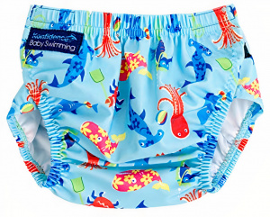 Konfidence swimming nappy Aquanappy junior light blue one-size