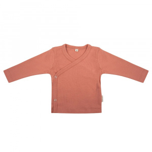 Little Indians longsleeve Canyon Clay junior terracotta groen