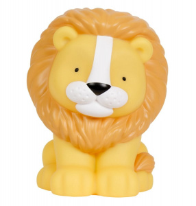A Little Lovely Company night lamp Lion junior 18 cm PVC yellow