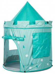 Mamamemo pop-up plays tent Aqua 140 cm polyester aqua 2-piece