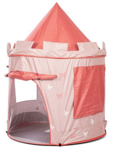 Mamamemo pop-up playtent Peach140 cm polyester pink 2-piece