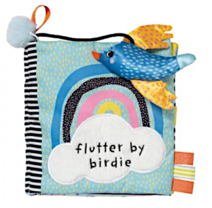 Manhattan Toy zacht babyboek Flutter By Birdie junior pluche