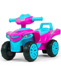 Milly Mally loopwagen Ride On Monster junior roze