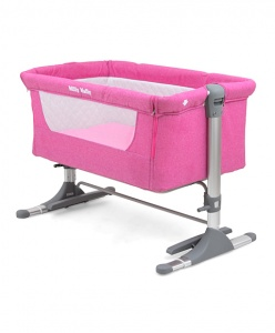 Milly Mally travel cot Side by Side96 x 57 x 36 cm pink