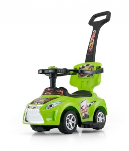 Milly Mally Ride On Kid loopwagen groen