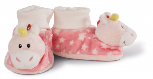 Nici baby shoes Unicorn Stupsi 7 x 7,5 cm plush pink