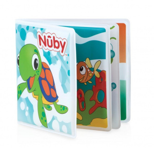 Nuby junior bath booklet 19 x 15 cm rubber