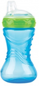 Nuby Easy Grip Anti-skid cup 300ml blue 6m+