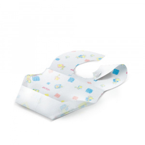 Nuby bibs Disposable junior 22,7 cm white