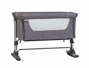 Pericles babywieg/co-sleeper Co-Dodo anti-reflux 93 cm grijs