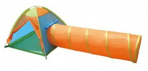 Playfun play tent with play tunnel
