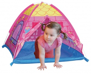 Playfun play tent princess 116 x 116 x 84 cm pink