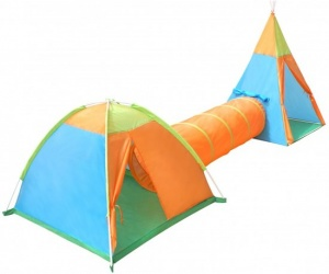 Playfun play tent set multicolor