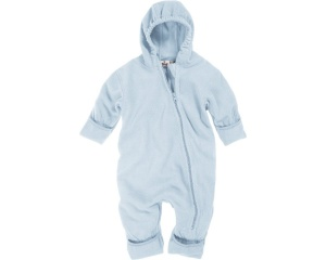 Playshoes baby pyjamas onesie fleece junior blue