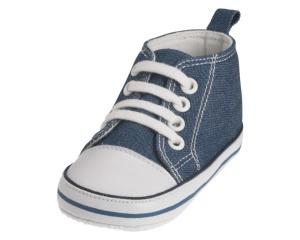 Playshoes baby shoes Canvasjunior jeans blue
