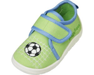 Playshoes baby soccer shoes junior textile green