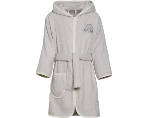 Playshoes bathrobe elephant grey junior