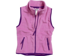 Playshoes bodywarmer polaire filles rose/violet
