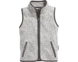 Playshoes bodywarmer Knit fleece junior grijs
