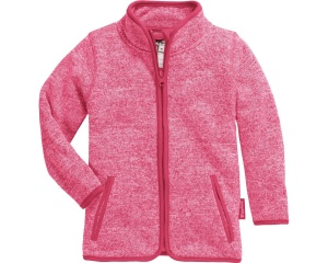 Playshoes fleecejack Knit fleece junior roze