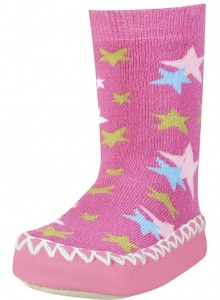 Playshoes pantoffeln SterrenMädchen rosa