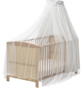Playshoes mosquito net for crib with canopy