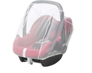 Playshoes universal mosquito net car seat white