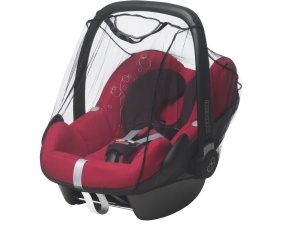 Playshoes universal mosquito net car seat black