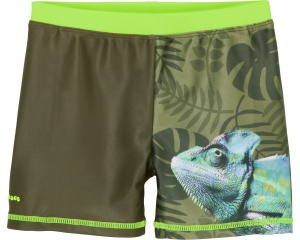 Playshoes swimming shorts KameleonUV resistant olive green