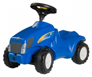 Rolly Toys looptractor RollyMinitrac NH T6010 junior blauw