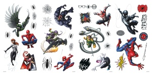 RoomMates stickers muraux Marvel Spider-Man vinyle 32 pièces