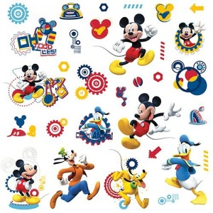 RoomMates stickers muraux Mickey Mouse Clubhouse vinyle 31 pièces