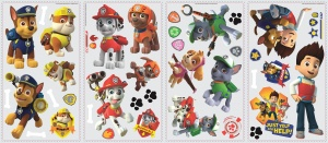 RoomMates wallstickers Paw Patrol Marshall vinyl 37 pieces