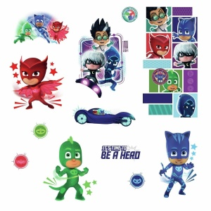 RoomMates wallstickers PJ Masks vinyl 13 pieces