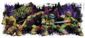 RoomMates muurstickers Teenage Mutant Ninja Turtles vinyl 100 x 45 cm