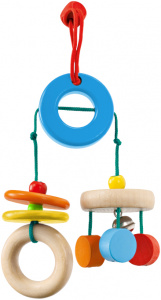 Selecta Spielzeug mobile Klappadujunior 19 cm wood natural/blue