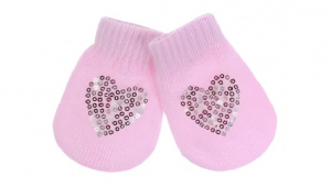Soft Touch baby socks Star girls acrylic pink