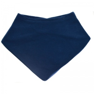 Soft Touch bandana junior 20 x 40 cm navy