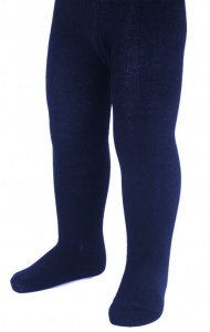 Soft Touch tights girls navy 0-3 months