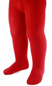 Soft Touch tights girls red 0-3 months