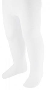 Soft Touch tights girls white 12-24 months