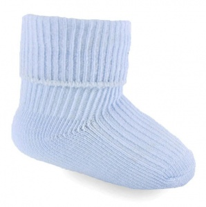 Soft Touch oversocks boys 0-3 months blue