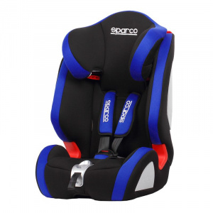 Sparco car seat F1000K (E4-R44) junior polyester/textile blue
