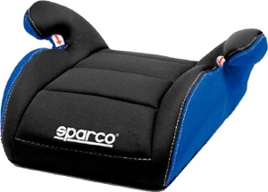 Sparco booster seat group 2-3 black / blue