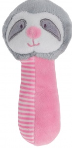 Tender Toys pinch Spielzeug Faultier 16 cm rosa