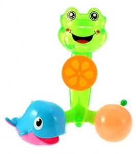 Toi-Toys Mr. frog water mill 3-piece