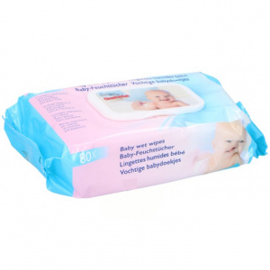 TOM baby wipes moist 80 pieces