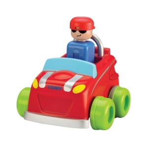 Tomy toy car Toomies - Push 'n Go Car41 cm rouge