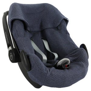 Trixie car seat cover Diamond Blue Maxi-Cosi cotton dark blue