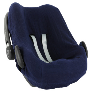Trixie car seat cover junior cotton dark blue